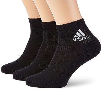 adidas AdiAnkle HC 3pp - Calcetines de productos de entrenamiento (3 pares) para niño - tamaño: 35-38, color: negro/negro: Amazon.es: Deportes y aire libre