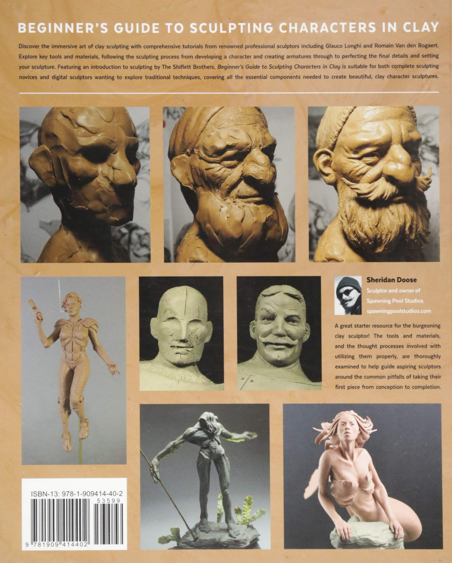 Buy Beginner's Guide to Sculpting Characters in Clay Book Online at Low  Prices in India   Beginner's Guide to Sculpting Characters in Clay Reviews  & Ratings ...