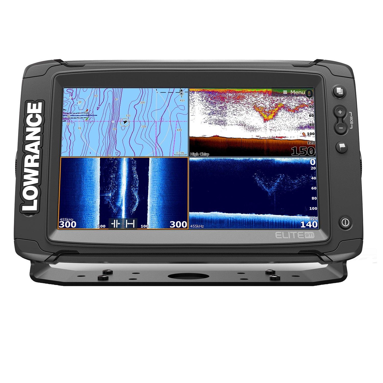 Elite Navico Ti 9'' Sonar/GPS Total Scan Bundle