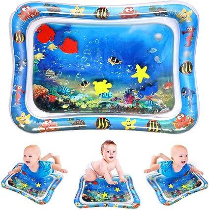 Amazon.com: YABOT - Esterilla de agua hinchable para bebés y ...