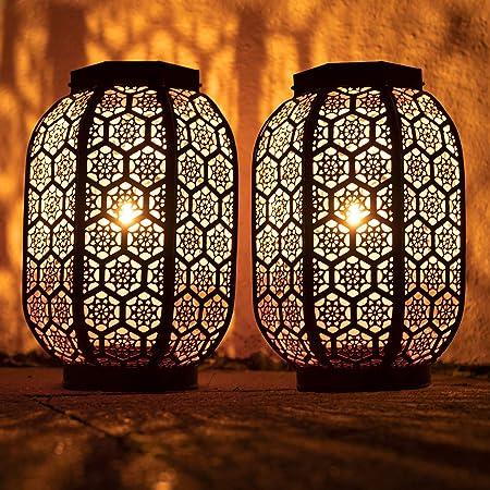 Stunning Decorative Moroccan Lantern Set of 2