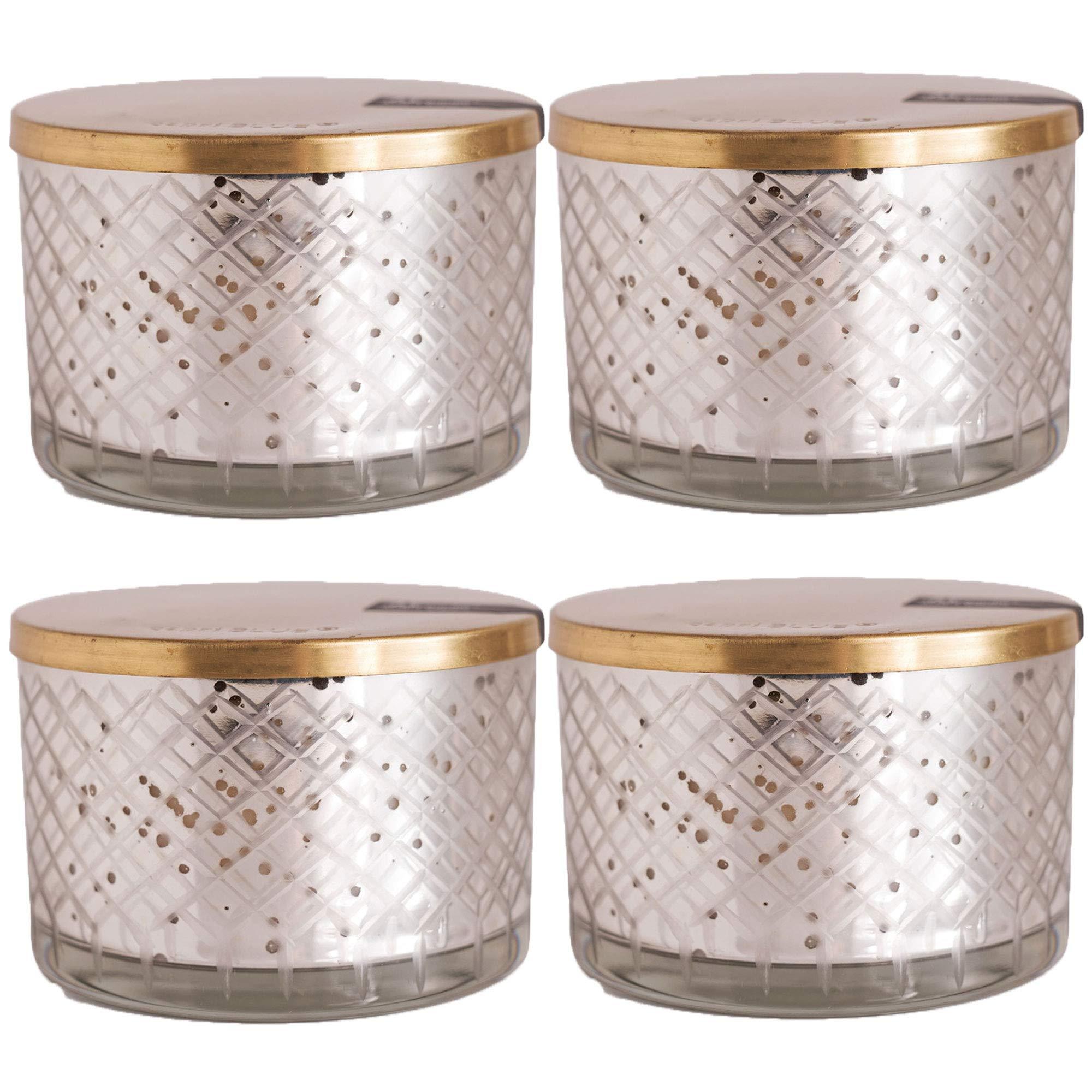 Capri Blue 15 oz Blue Jean Mercury Collection Candle Bowl (4pk), Assorted, One Size