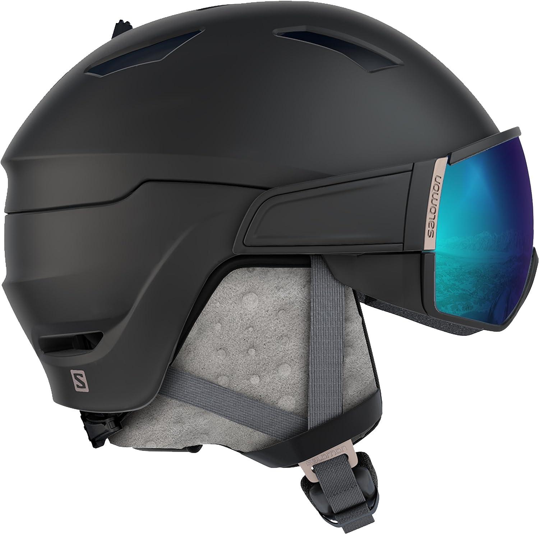 mit Visier EPS 4D-Innenschaum Salomon Damen Mirage S Ski- und Snowboardhelm OTG-L/ösung f/ür Brillentr/äger