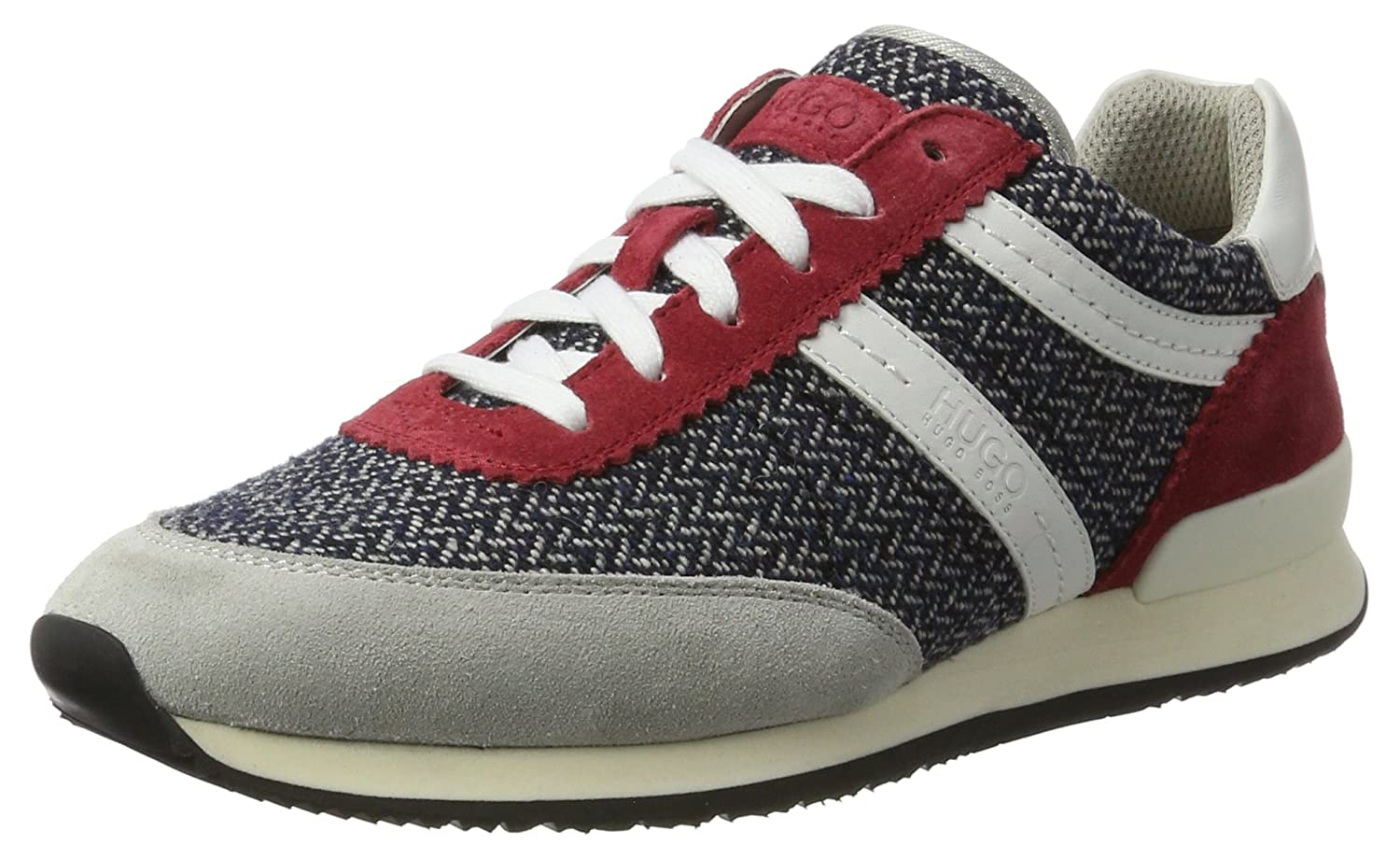 HUGO Adreny-pl Basses 10191482 01, Sneakers Basses (Dark Femme Rouge (Dark Sneakers Red) 80e45bb - shopssong.space