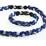 Kare & Kind® Titanium Sport Necklace 19''& Bracelet 8''