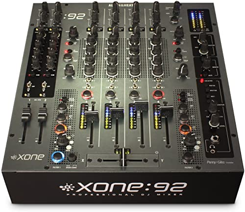Allen & Heath Xone: 92 Fader Professional 6 Channel Club/DJ Mixer