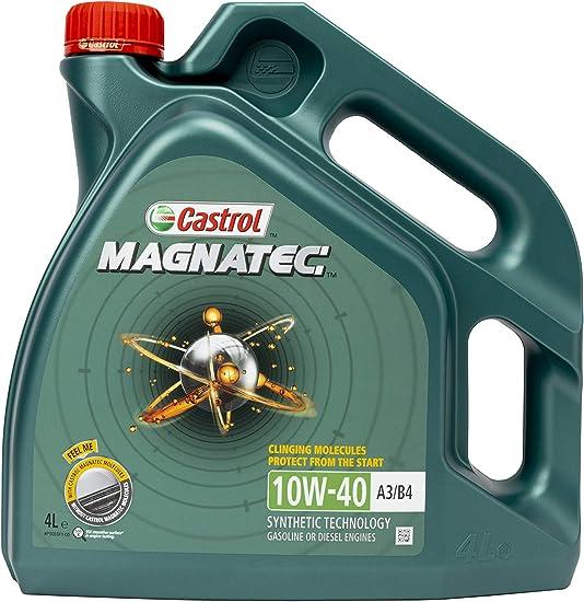 Castrol Magnatec 10w 40 A3 B4 Engine Oil 4l Auto