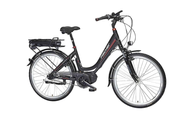 Fischer E-Bike City ECU 1720, 26 Zoll, Mittelmotor 48 V/422 Wh und ...