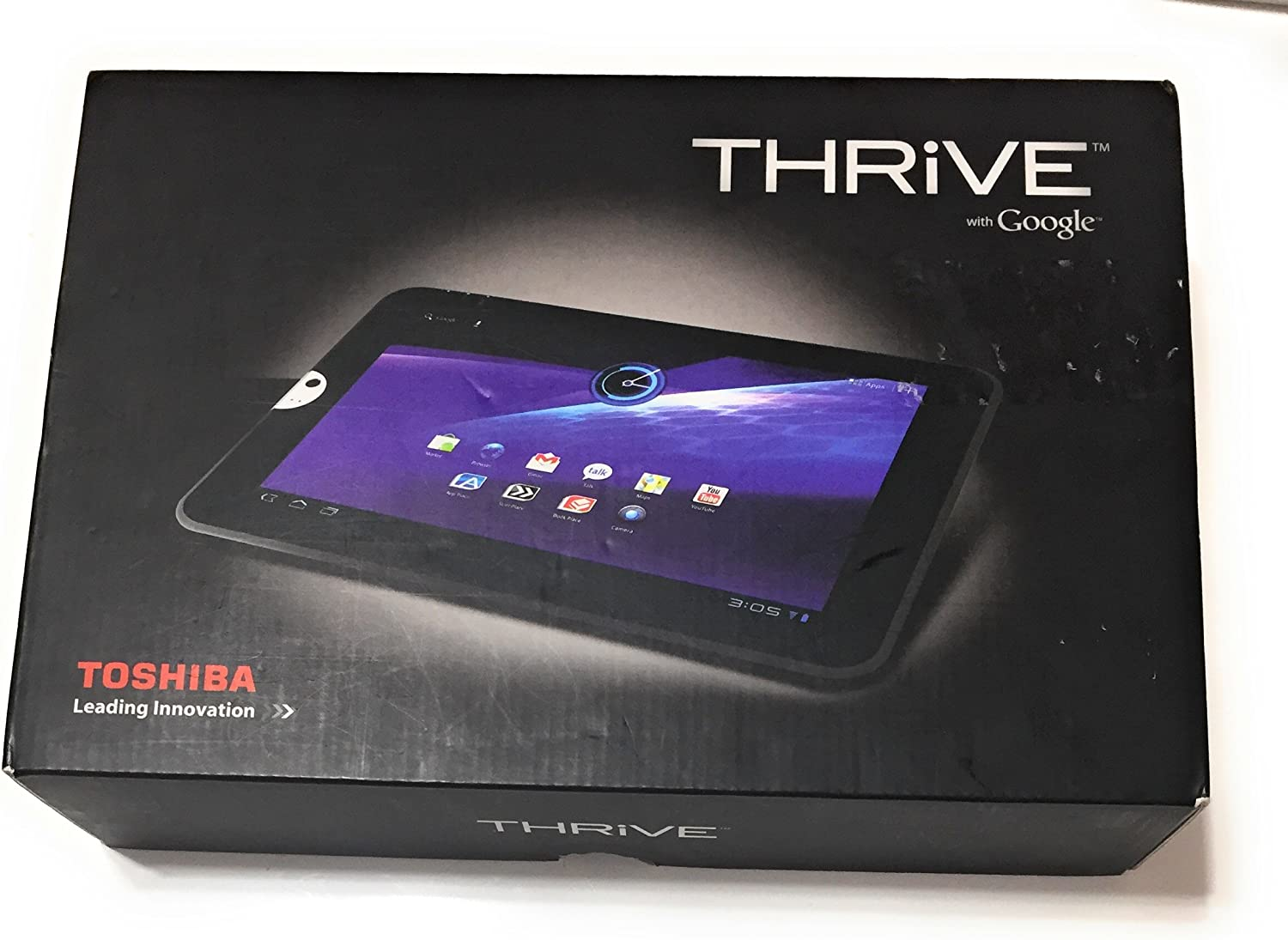 Toshiba Thrive 10.1-Inch 16 GB Android Tablet AT105-T1016