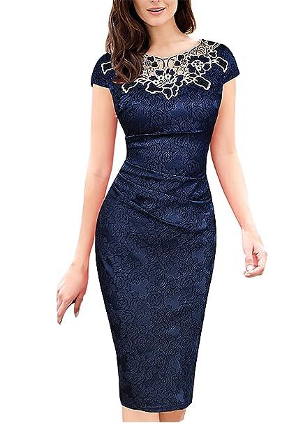 Mujer Vestido de Encaje Falda Para Fiesta Mini Vestido vestidos atractivos Vestidos sin mangas de corte