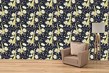 Buy Printelligent Famous Places Of Paris Peel And Stick Wallpaper Self Adhesive Large Roll 26 Sqft Online At Low Prices In India Amazon In