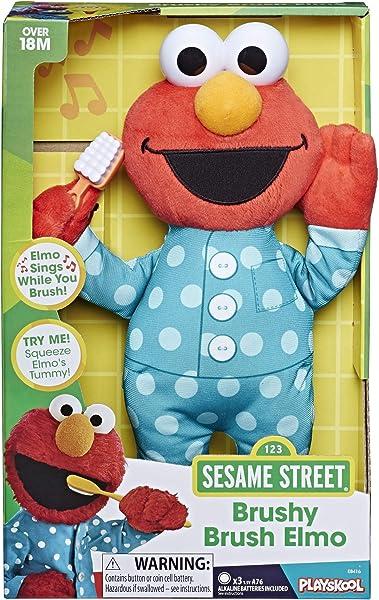 Sesame Street Brushy Brush Elmo in box