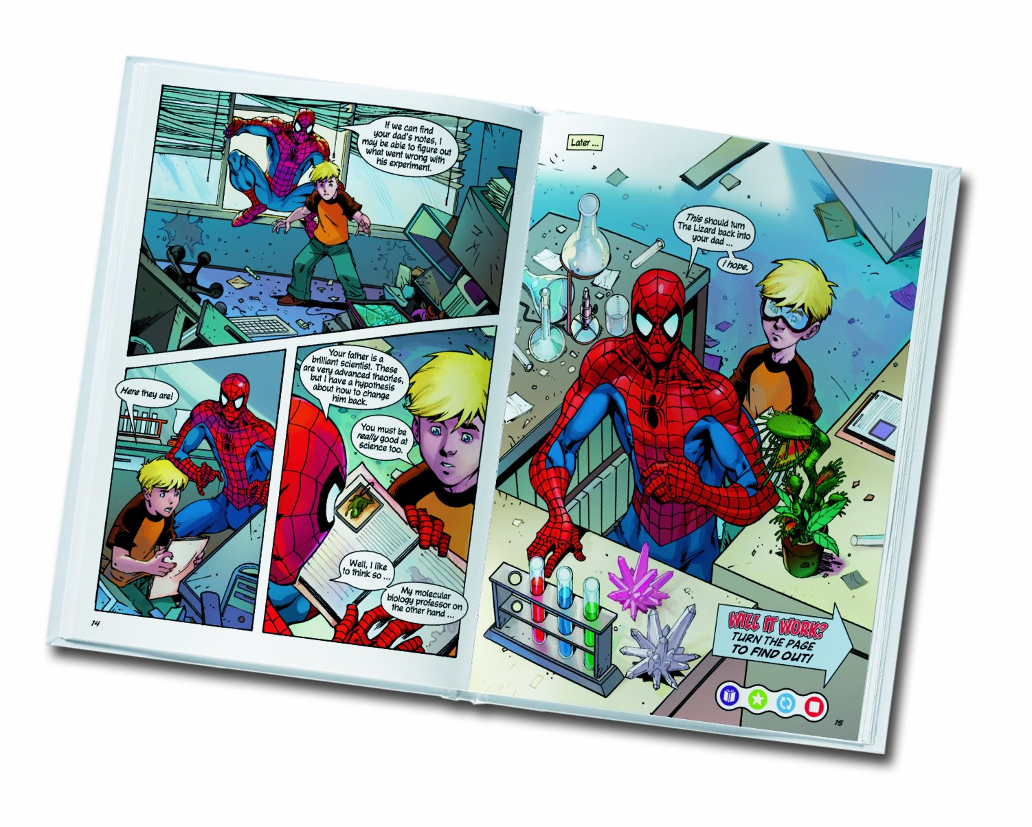 LeapFrog Tag Activity Storybook The Amazing Spider-Man: The Lizard's Tale by LeapFrog (Image #3)