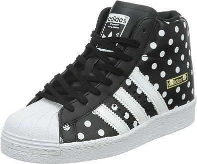Habubu Ligeramente condado  adidas Superstar Up W - Botas para Hombre, Color Negro y Blanco, Talla 42:  Amazon.es: Ropa y accesorios