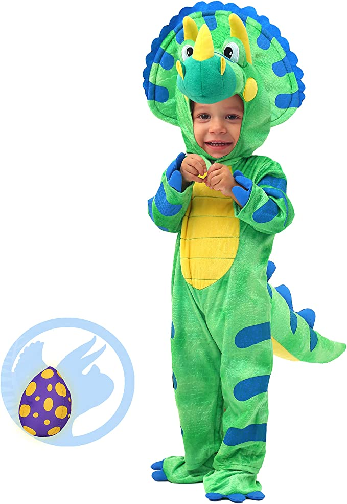 Amazon.com: Spooktacular Creations Baby Triceratops ...