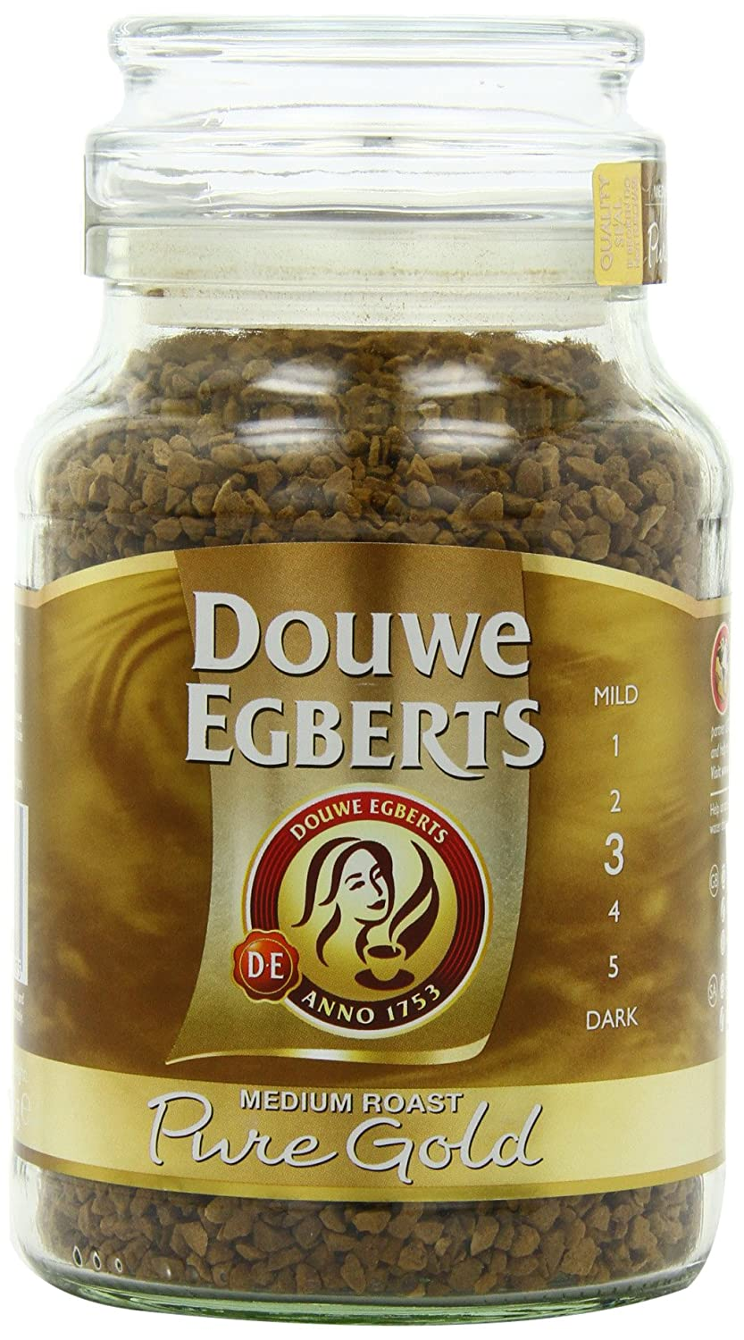 Douwe Egberts Pure Gold Instant Coffee, Medium Roast, 7.05-Ounce, 200g (Packaging May Vary) TRTAZ11A