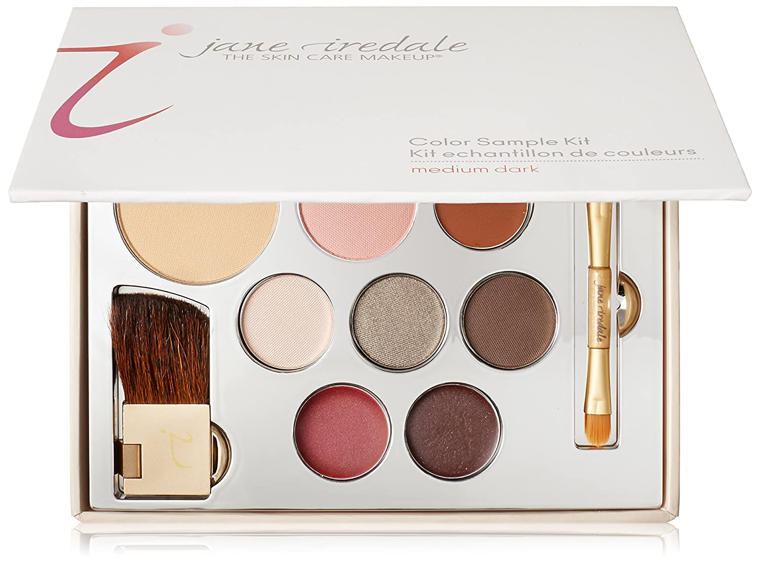 Makeup ideas jane iredale makeup makeup ideas tips and tutorials amazon jane iredale color sample kit mediumdark luxury beauty nvjuhfo Choice Image