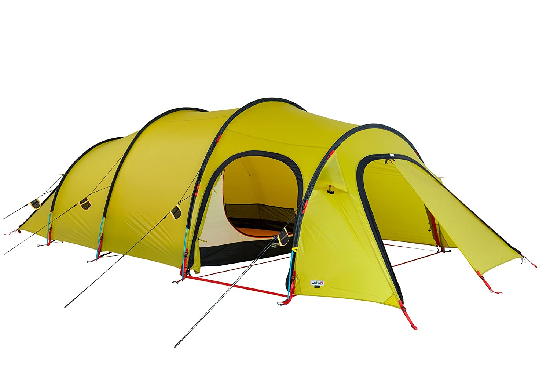 Wechsel Tents Endeavour 4 Personen Expeditionszelt - Unlimited Line - 4 Jahreszeiten Zelt, Cress Grün