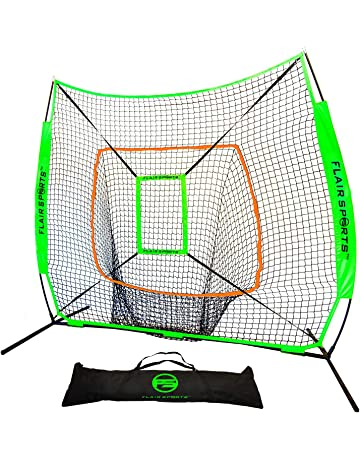Flair Sports Baseball \u0026 Softball Net for Hitting Pitching | Heavy Duty 7x7 Pro Series Amazon.com: Practice Nets - Training Equipment: Outdoors