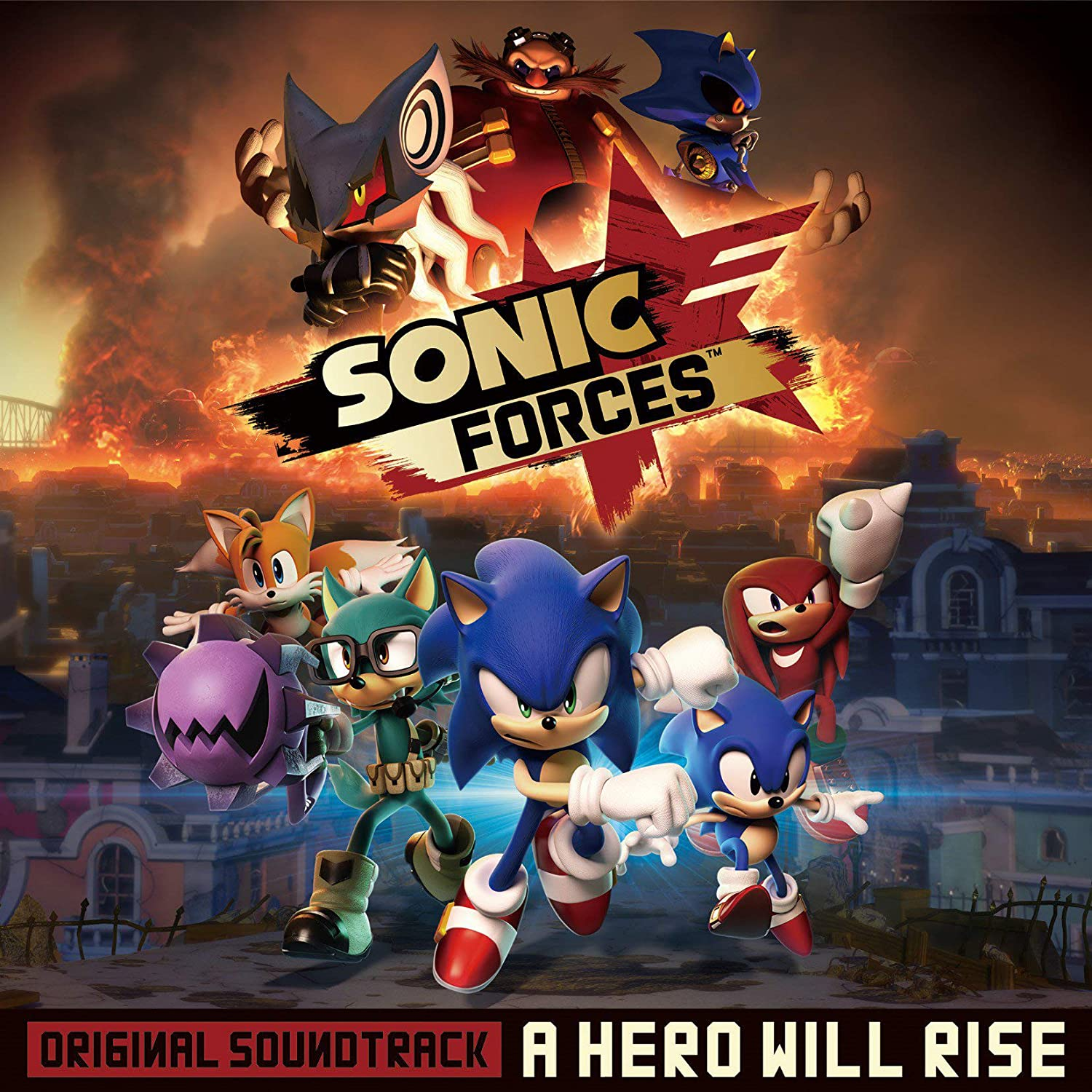Sonic Forces : A Hero Will Rise OST: Naofumi Hataya/Tomoya Ohtani, Naofumi Hataya/Tomoya Ohtani: Amazon.es: Música