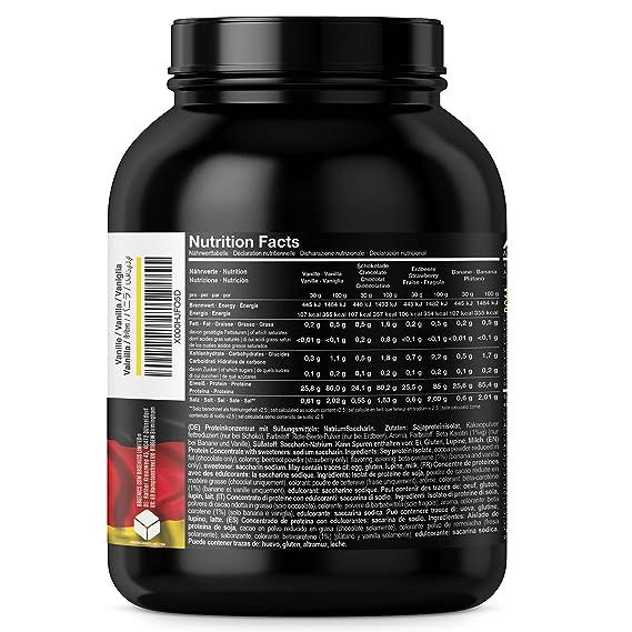 BBGENICS Deutschland - Soja Isolat, proteína en polvo, 6000g banana: Amazon.es: Salud y cuidado personal
