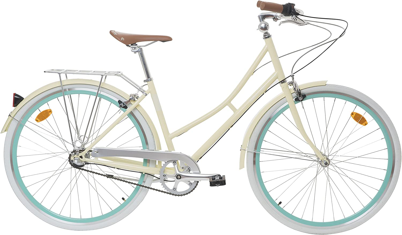 Fabric City Bicicleta de Paseo- Bicicleta de Mujer 28\