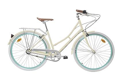 "Fabric City Bicicleta de Paseo- Bicicleta de Mujer 28"", Cambio Interno Shimano 3V"