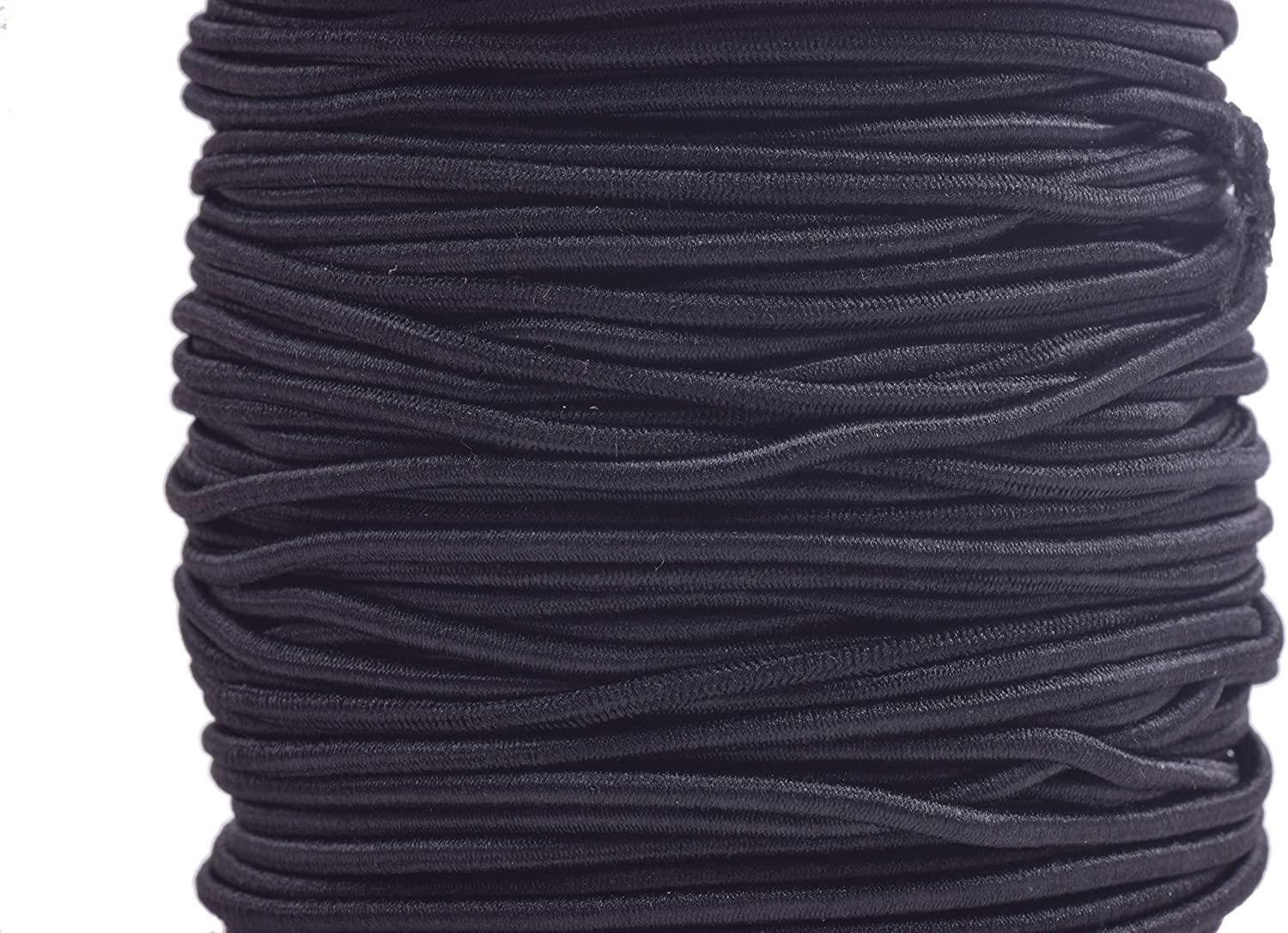 30 yards 2.5mm round elastic cord,Navy Blue Stretch cord jewellery,Nylon wrapped Rubber. stretch elastic string,Beading Cord,DYI masks