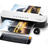 Laminator, A4 Laminator Machine, 4 in 1 Thermal Laminator for Home Office School Use, 9 inches Max Width, Quick Warm-Up, Pape