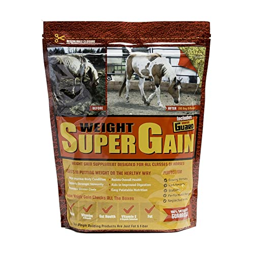 Horse Guard Super Weight Gain Equine Vitamin Mineral, Probiotic & Weight Gain Supplement
