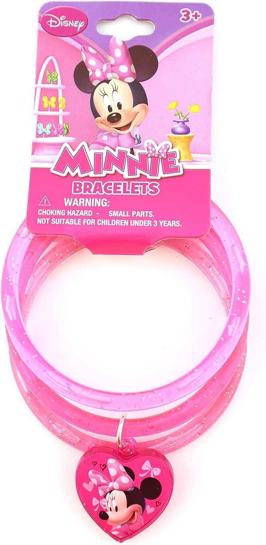 Disney Slap Bracelet Mickey Mouse Lights Up Minnie Mouse Bow Birthday Gift Lot