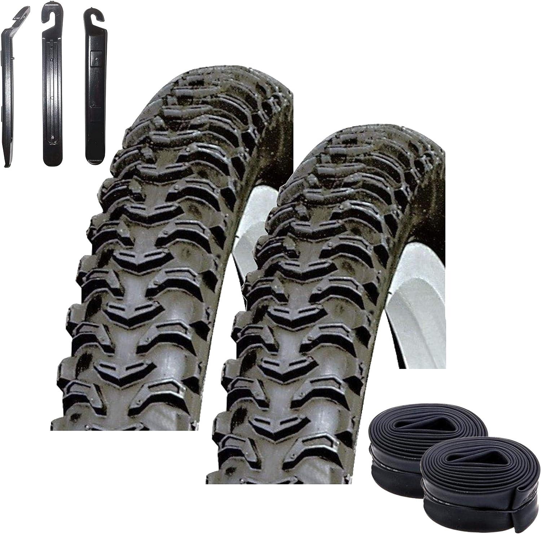 maxxi4you - Juego de 2 cubiertas para bicicleta de montaña Kenda K-846 Bear Claw de 26