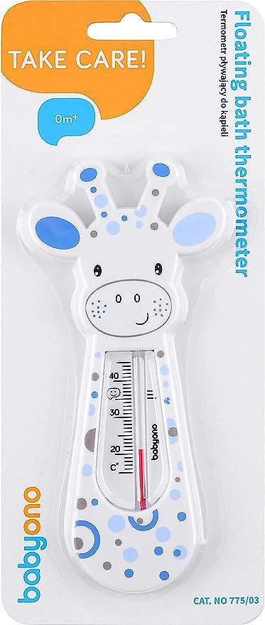 Babyono Termometro da Bagno per Bambini BO0008 Bianco//Blu
