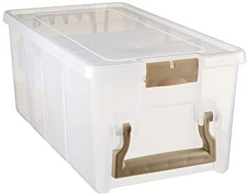 Superb ArtBin Marker Storage Satchel With 1 Marker Tray And 2 Dividers; Clear Storage  Container