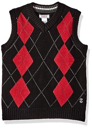ac657d788ee9 Amazon.com  IZOD Boys  V-Neck Sweater Vest  Clothing