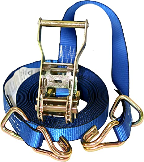 10 FT Everest Premium Ratchet Tie Down 900 LBS Break Strength 4 PK Cargo Straps Perfect for Moving Appliances 1 IN Cambuckle Alternative Lawn Equipment and Motorcycles 300 LBS Working Load
