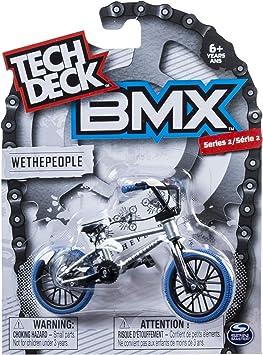 Tech Deck Bmx Finger Bike Wethepeople White Amazon Co Uk Toys Games