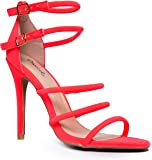 Round Strappy Open Toe Hot Sexy Club Party High Heel Sandal