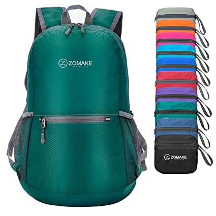 Image Unavailable. Image not available for. Color  ZOMAKE Ultra Lightweight  Packable Backpack Water Resistant Hiking ... 1000a67af7182