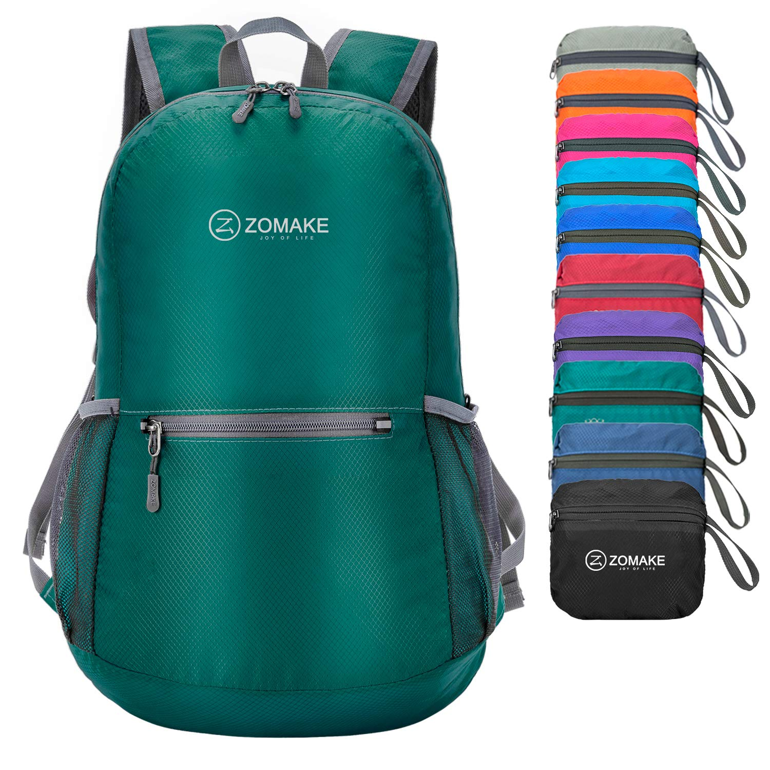 ZOMAKE Ultra Lightweight Packable Backpack Water Resistant