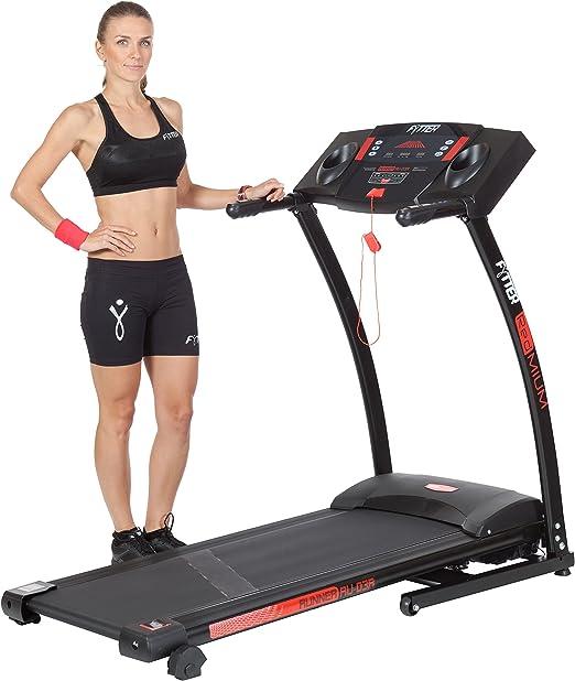 FYTTER Cardio RU003R - Cinta de Correr para Fitness, Color Negro ...