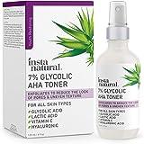 Glycolic Acid Toner 7% with Vitamin C - Pore Minimizer, Blackhead & Brightening Treatment - AHA Exfoliating Astringent…