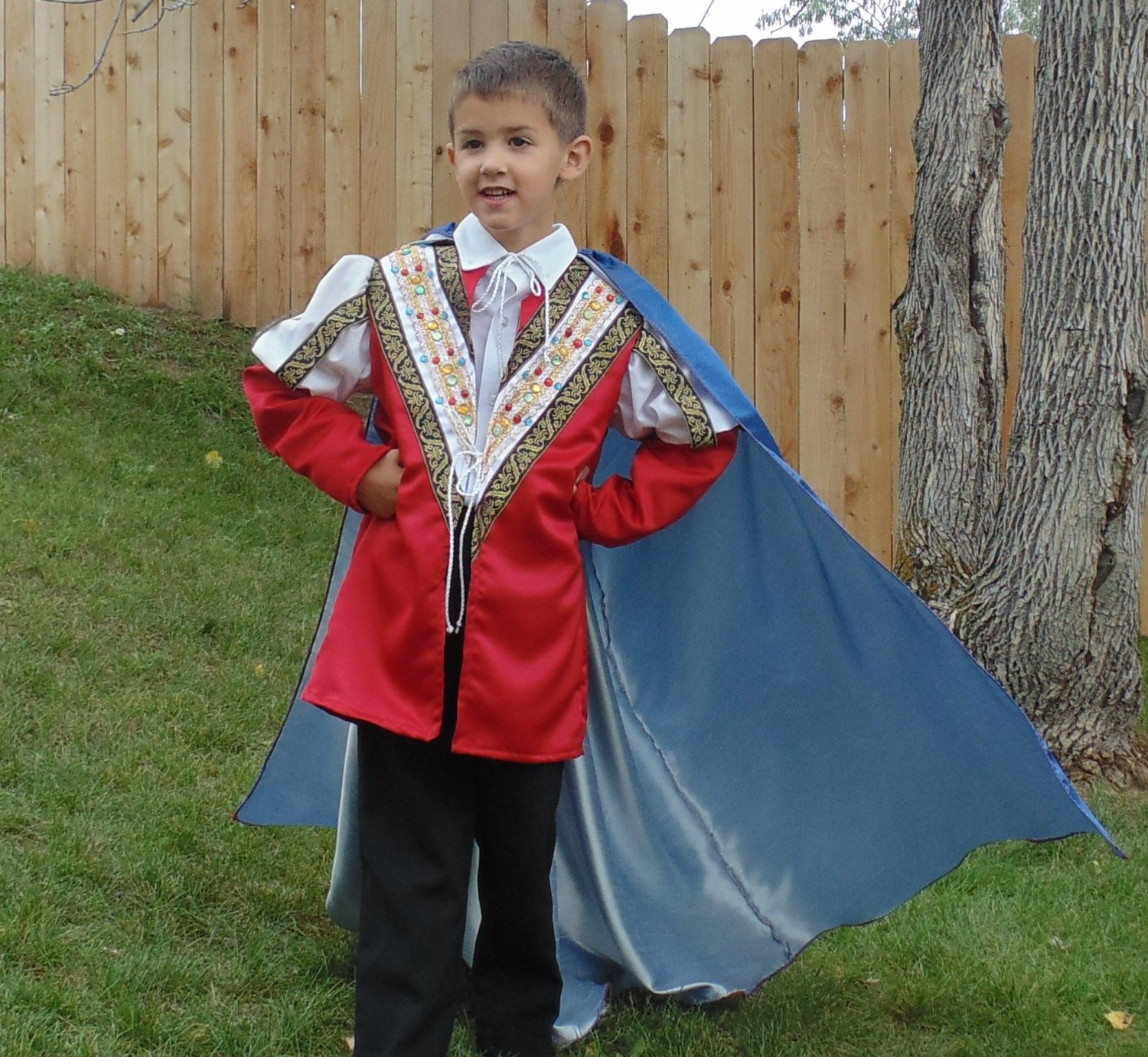 Boys Size 5-7 Noble king by Fru Fru and Feathers Costumes & Gifts