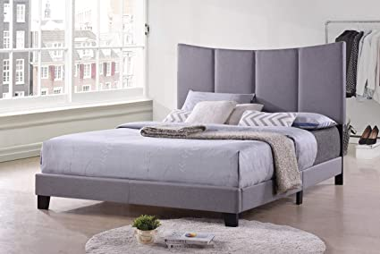 Amazoncom Kings Brand Furniture Corinth Smoke Gray King Size
