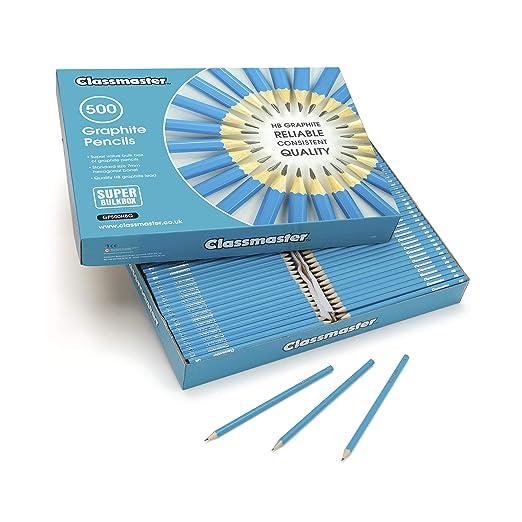 12er Pack 12 x Bleistifte Q-Connect ohne Radierer HB