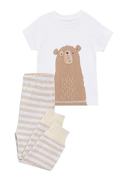 next Niños Pijama De Diseño Abrigado con Motivo De Oso (9 Meses - 6 Años