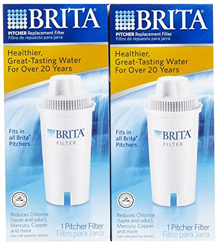 Amazon.com: Brita Pitcher Filters, -2 pack - 2 pk.: Home ...