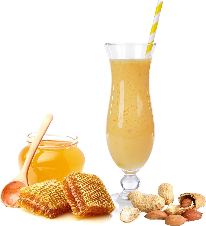 leche en polvo para golpear el sabor de los cacahuetes miel ...
