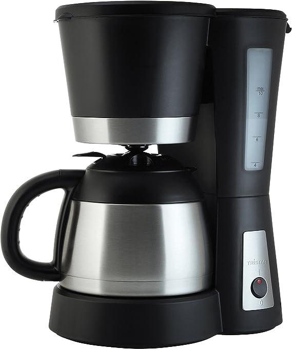 Tristar CM-1234 Cafetera Acero Inoxidable y Capacidad para 1 litro ...