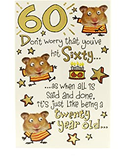 60th Birthday Card Funny